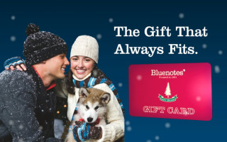 Bluenotes Gift Card: Digital Signage